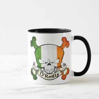 O'Reilly Irish Skull Mug