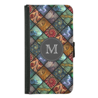 """Orgaenica"" Monogrammed Wallet Phone Case"