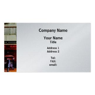 Organ and Swivel Stool - Platinum Finish Business Card Templates