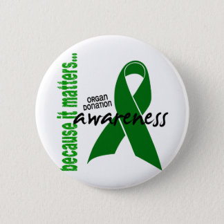 Organ Donation Awareness 6 Cm Round Badge