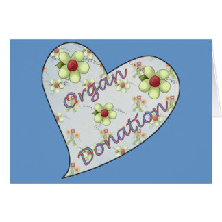 Organ Donation Card