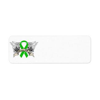 Organ Donation Return Address Label