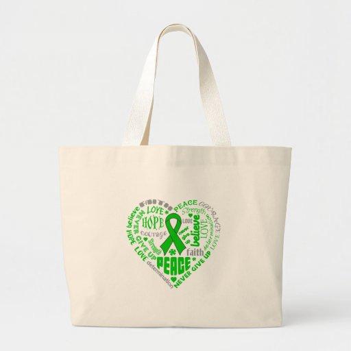 Organ Donor Awareness Heart Words Bag