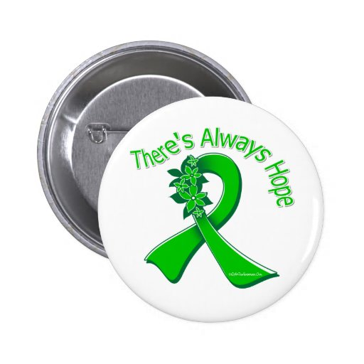 Organ Donor Awareness There's Always Hope Floral Pins