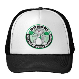 Organ Donor Cat Donor Trucker Hats
