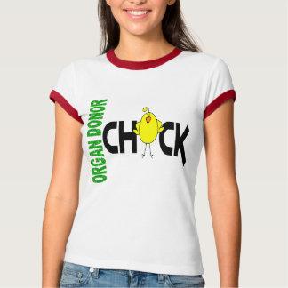 Organ Donor Chick 1 T-shirt