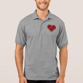 Organ Donor Grey Polo Shirt