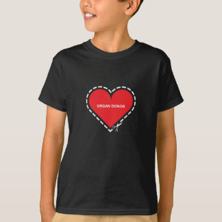 Organ Donor Kids' Dark T-Shirt