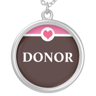 Organ Donor Necklace