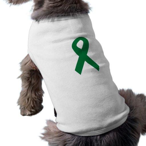 Organ Donor Ribbon Doggie Tee Shirt