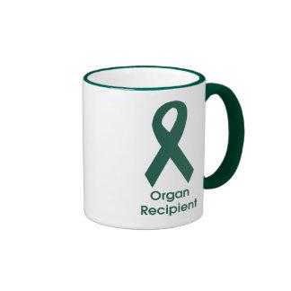 Organ Donor Ribbon Ringer Mug