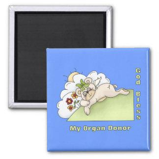 Organ Donor Thanks Refrigerator Magnet
