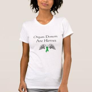 Organ Donors Are Heroes Shirts