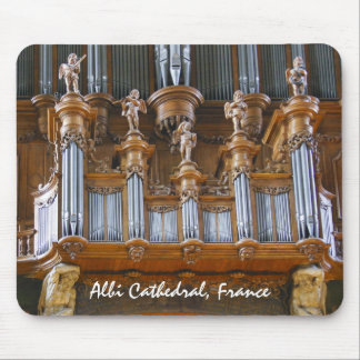 Organ in Albi Cathedral, France Mouse Pad