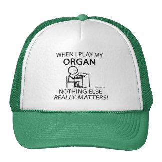 Organ Nothing Else Matters Cap