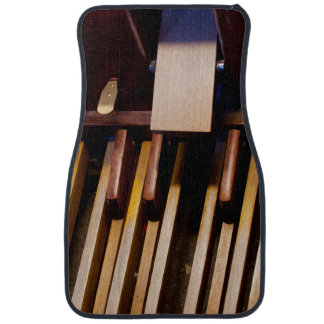 Organ pedals floor mat