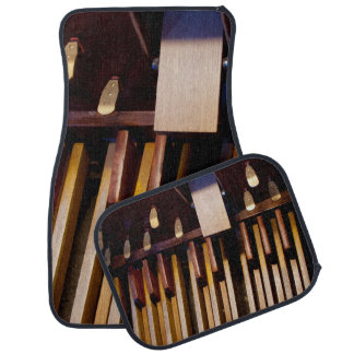Organ pedals full set of mats floor mat