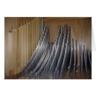 Organ Pipes Card