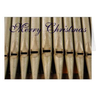 Organ Pipes Christmas Card