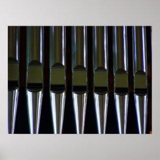 Organ Pipes Detail Print