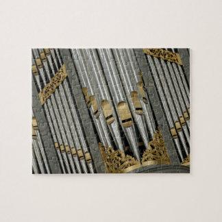 Organ pipes jigsaw puzzle