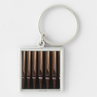 Organ pipes key ring