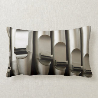 Organ pipes lumbar pillow