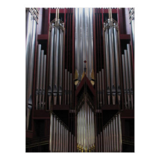 Organ Pipes Poster