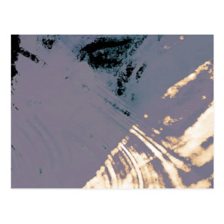 Organic Abstract 1271 Postcard