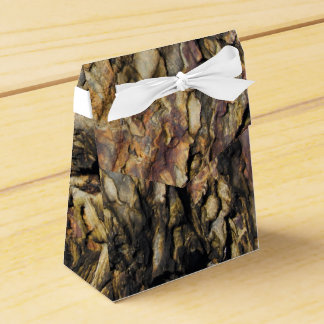 Organic Abstract Rock Favour Box