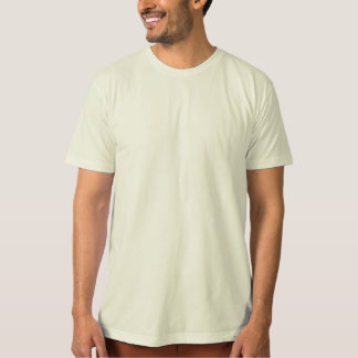 Organic Adult T - Back Only Imprint T-Shirt