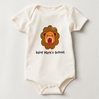 Organic Baby Lil' Lion Baby Bodysuit