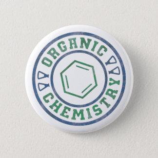 Organic Chemistry 6 Cm Round Badge