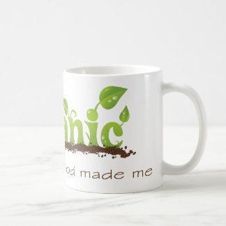Organic Christian coffee mug
