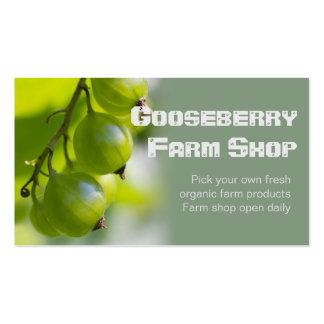 Organic Farm Products CC0209 Business Card