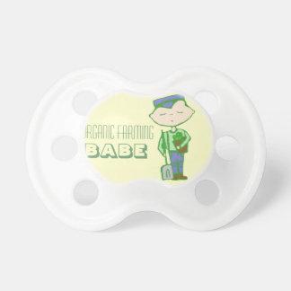 Organic farming babe pacifiers