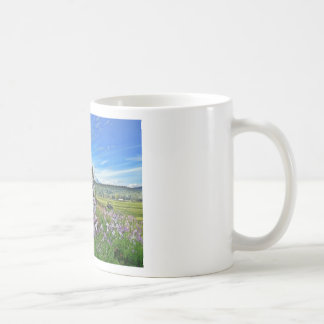 organic farming basic white mug