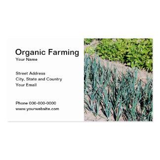 Organic Farming Business Card
