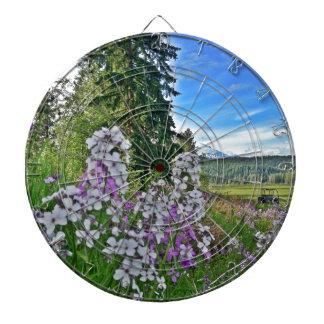 organic farming dartboard