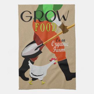 Organic Farming Tea Towels