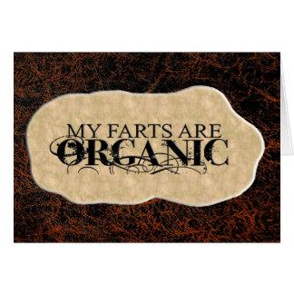 ORGANIC FARTS CARDS