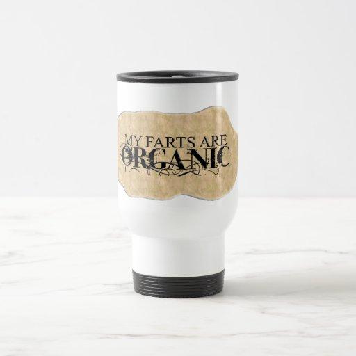 ORGANIC FARTS COFFEE MUGS