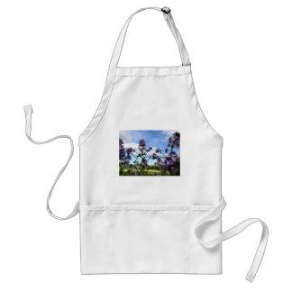 organic flowers apron