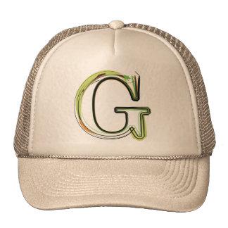 Organic Font illustration Mesh Hats