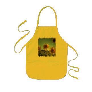 Organic Garden Sunflower Yellow Apron