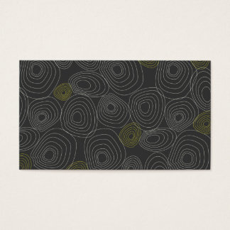 ORGANIC GRAY/WHITE BUSINESS CARD