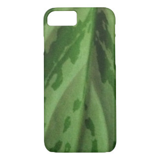 organic green camouflage pattern iphone case