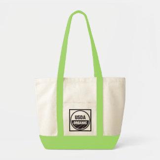organic grocery bag tote
