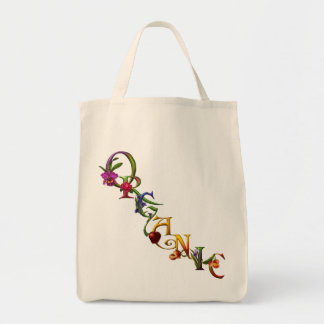 Organic Grocery Grocery Tote Bag