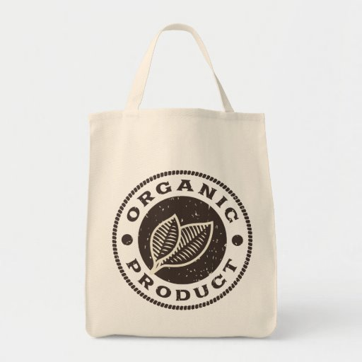 Organic Grocery Tote Tote Bags